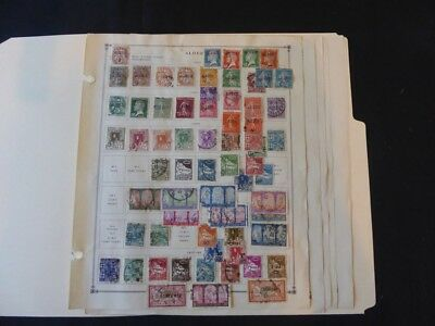 Algeria to 1955 Stamp Collection on Scott Intl Album Pgs