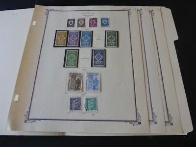Portgual 1933-1941 Mint/Used on Scott Specialty Album Pages