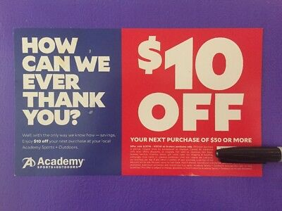 academy sports coupons $10 off 2019