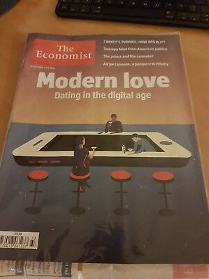 The Economist Magazine (August 18Th- 24Th)  Brand New (Still Plastic Wrappped)
