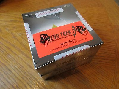 2017 Star Trek 50th Anniversary Factory Sealed ARCHIVE BOX w/ Printing Plate Set