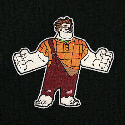 Disney Wreck-It Ralph Movie Ralph Character Embroidered Iron-On Patch