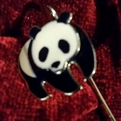 panda bear bookmark enameled metal