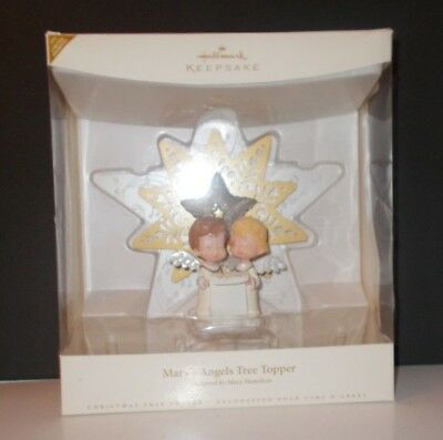 Hallmark Keepsake Ornament Mary's Angels Tree Topper Limited Quantity dated 2006