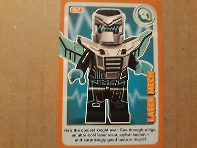 No 67 LEGO Sainsburys Create The World Incredible Inventions cards 067 all set