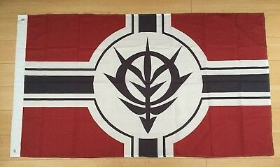 Mobile Suit Gundam Principality of Zeon 3x5 ft Flag Banner