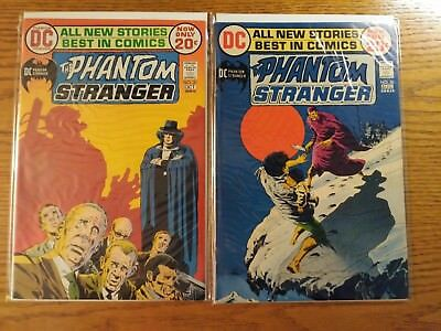The Phanton Stranger #20 and #21. Two Book Lot. Higher Grade!