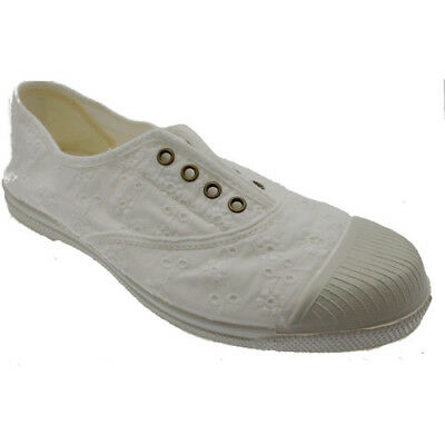 5fdf1514489f7 CHAUSSURES FILLES NEUVES Natural World Fille Blanc Taille 34 - EUR ...