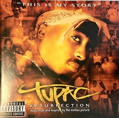 Tupac 2pac Resurrection This is My Story CD, Tested