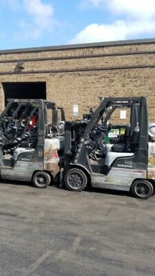 2005-2010 Nissan Model C40 4000# Cushion Tired Forklifts