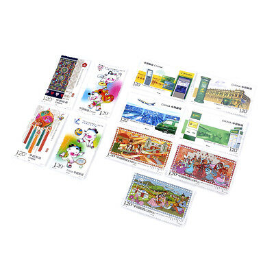 Kids Fun Stamp Collection Old Value Lots China World Fun Stamps for Collecting