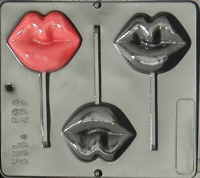 Lips Lollipop Chocolate Candy Mold 3304 NEW