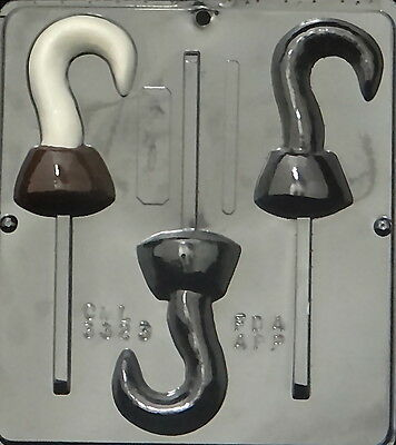 Pirate Hook Lollipop Chocolate Candy Mold 3323 NEW