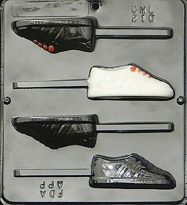 Sneaker Lollipop Chocolate Candy Mold 210 NEW