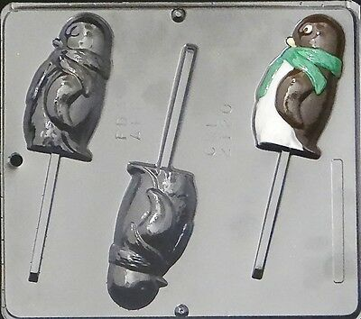 Penguin Lollipop Chocolate Candy Mold 2120 NEW