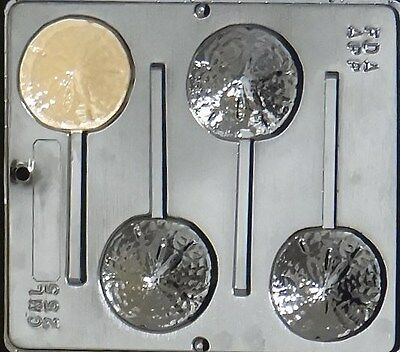 Sand Dollar Lollipop Chocolate Candy Mold 255 NEW