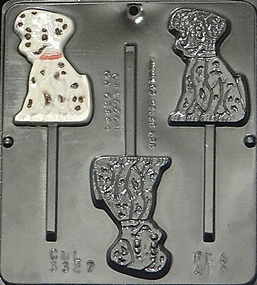 Dalmatian Lollipop Chocolate Candy Mold 3327 NEW