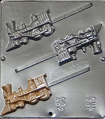 Train Lollipop Chocolate Candy Mold 238 NEW