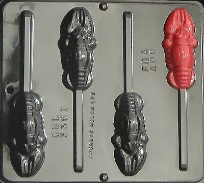 Lobster Lollipop Chocolate Candy Mold 3361 NEW