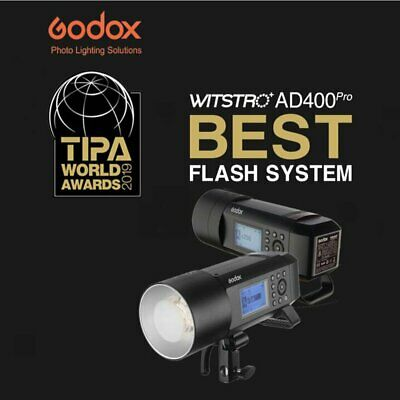 Godox AD400Pro 400Ws 2.4G X System TTL All-in-One Outdoor Flash With Case&Snoot