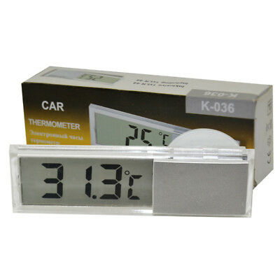 Thermometer Temperature Meter LCD Digital LCD Indoor Outdoor Suction Cup QUALITY