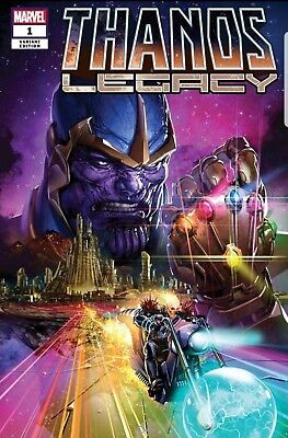 THANOS LEGACY #1 Cates Clayton Crain Marvel Cosmic Ghostrider IN STOCK Nr Mt