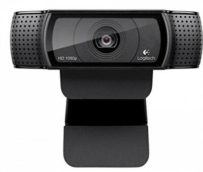 Logitech HD Pro Webcam C920, Widescreen Video Calling and Recording, 1080p or