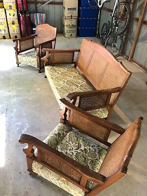 Antique Lounge Set Jacobean