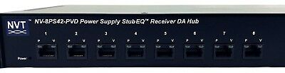 NVT NV-8PS42-PVD Power Supply StubEQ Active Receiver Hub (8-Channel)