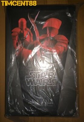 Hot Toys MMS454 Star Wars Praetorian Guard With Double Blade Imperfect Box