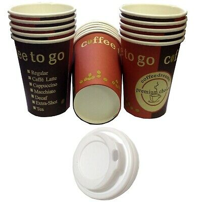 Hard Paper Paper Cup/Coffee Cups Coffee to Go with / without Lid 0,2l & 0,3l