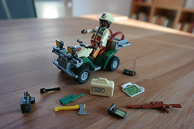 Playmobil 4176 Explorer Quad Dinoexpedition