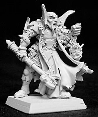 Reaper Miniatures Balthon, Overlords Cleric #14035 Warlord RPG D&D Mini Figure