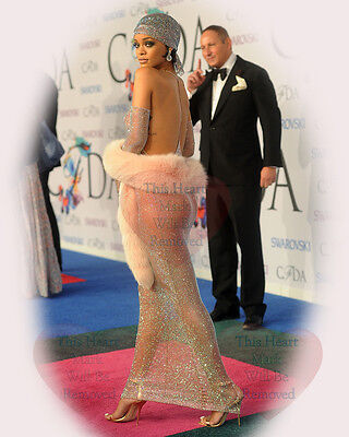 Rihanna Celebrity Actress Singer 8X10 GLOSSY PHOTO PICTURE IMAGE r34