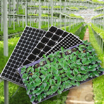 72/105/128 Cell Seedling Starter Tray Seed Germination Plant PropagationUUDE