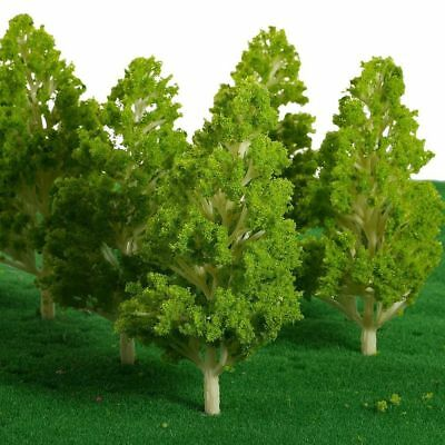 Miniature Dollhouse Fairy Garden Poplar Trees/Shrubs - Set of 2  - Buy 3 Save $5