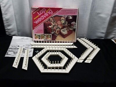 Vintage Love & Money Hexagon Lap Weaving Loom Kit John Alan Craft Instructions