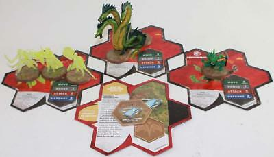 WOTC HeroScape Lo Wave #11 - Champions of the Forgotten Realms - Warriors o NM
