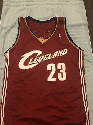 quality design 318f0 4f7b4 LEBRON JAMES GAME Worn / used Rookie Road Jersey Game Matched 11/01/03?