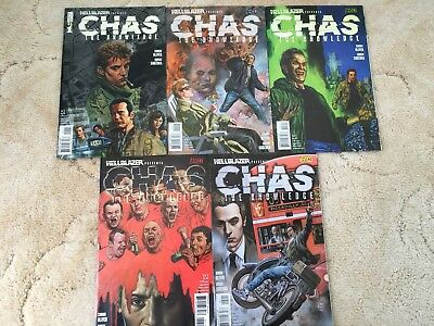 Hellblazer - Chas: The Knowledge, complete 5 issue run (2008)