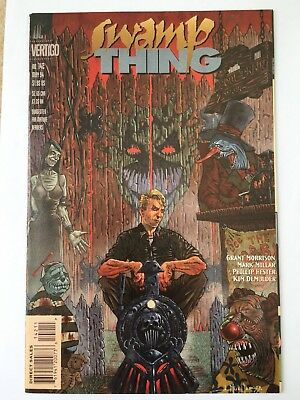 Swamp Thing #142, 1994, by Grant Morrison / Mark Millar