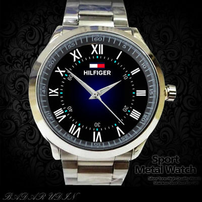 Hot Rare Spesial Reloj Tomi Hilfiger Men's Wristwatches Men Elegant SPort Watch