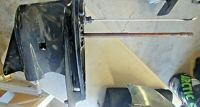 2003 Evinrude 115 E115FPLSTB Lower Unit - No Water Intake Screen - New Take Off