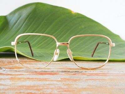 Vintage Eyeglass 1970s Vintage Square Aviators By Eye Q Made In Hong Kong NOS