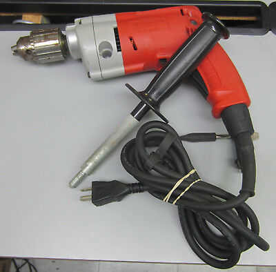 Milwaukee 0234-6 drill 1/2 Inch 5.5 A Magnum Drill 950 RPM with Chuck & Handle
