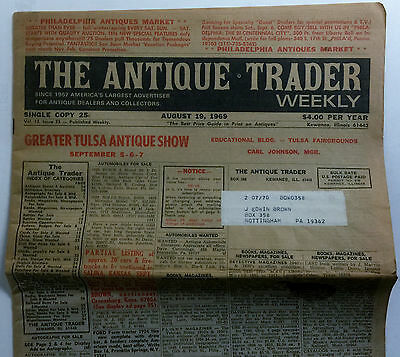 The Antique Trader Weekly August 1969