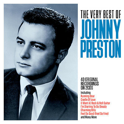 Johnny Preston - The Very Best Of - Greatest Hits 2CD NEW/SEALED