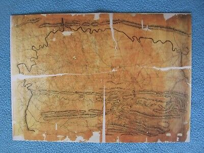 "Civil War Map - Copy of ""Personal  Map of Confederate General Lunsford Lomax"""