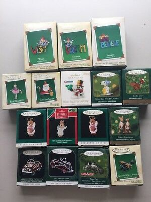 Hallmark Keepsake 16 Ornaments-Miniature Assortment