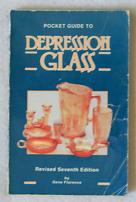 Pocket Guide to Depression Glass by Gene Florence (1990 Paperback)